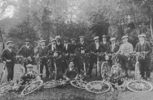 2. Mai 1920 Teilnahme an der Fahnenweihe in Herznach